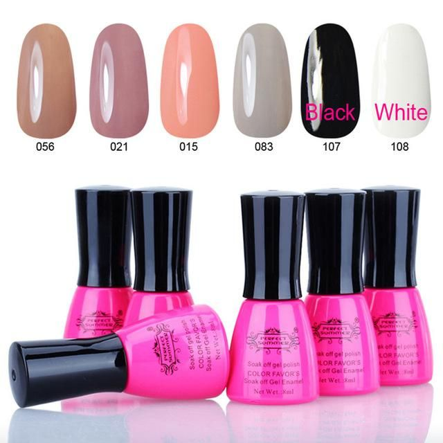 Perfect Summer Nail Gel Polish Long Lasting UV Gel Nail Polish ...
