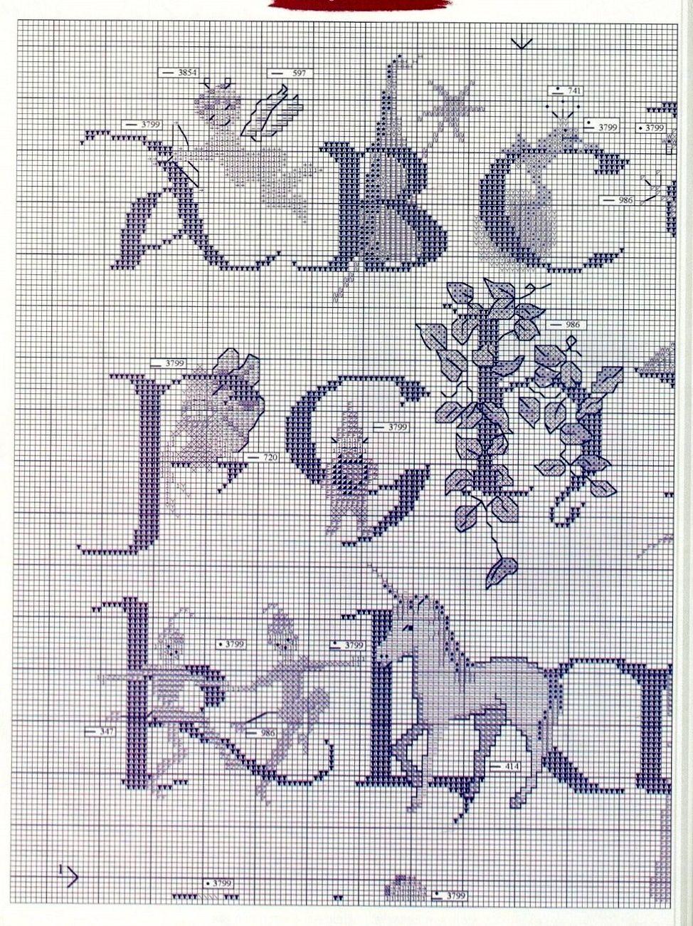 Fantasy Alphabet Sampler 2