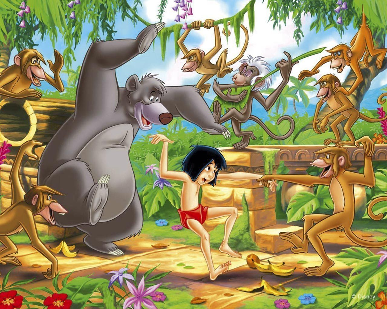 The Jungle Book Disney Wallpaper Jungle Book Jungle Book Disney