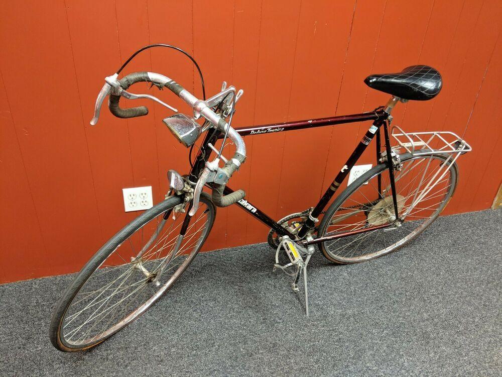 Vintage Road Bike Takara Deluxe Touring Road Bicycle Large 64cm Steel 1974 70 Road Bike Vintage Bicycle Road Bicycle