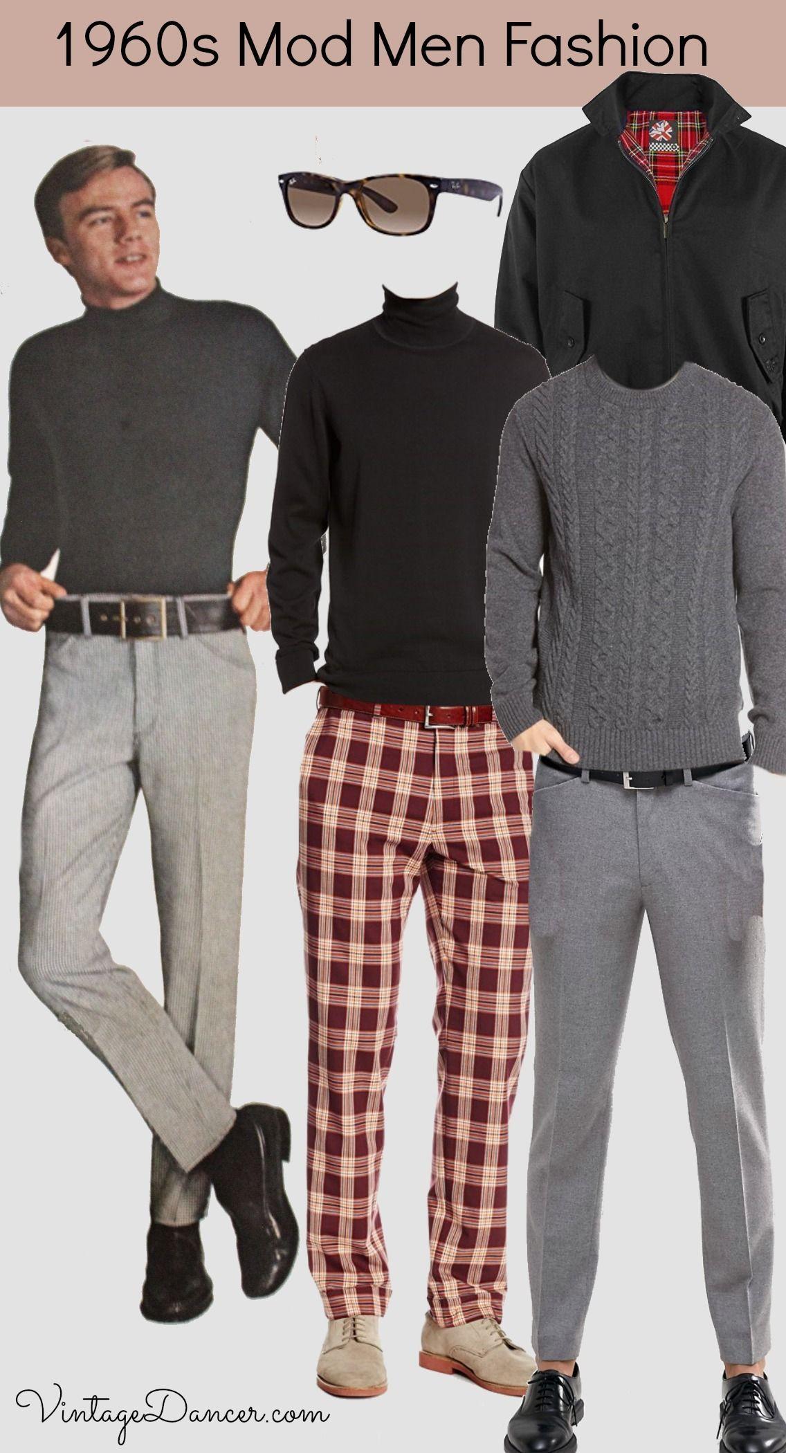 60s casual men fashion