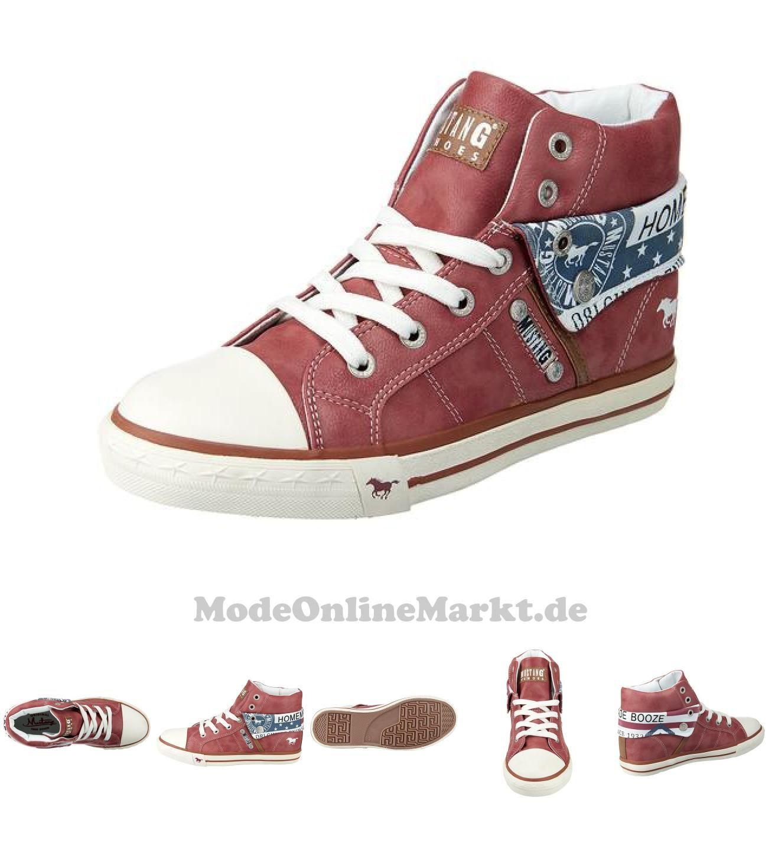 04053974373980 | #MUSTANG #Damen #Sneakers #rot