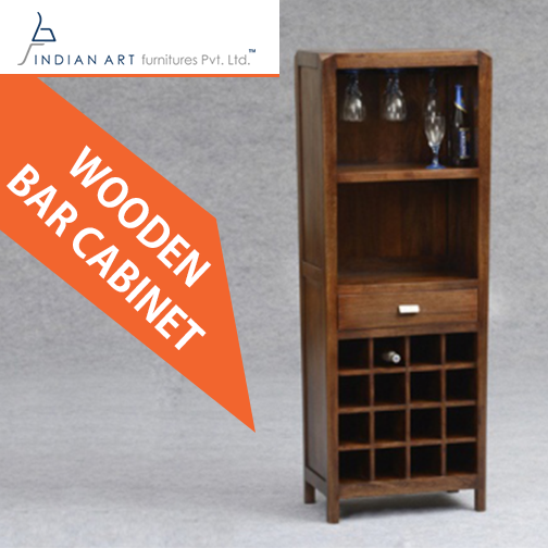 Serve Your Guests From Your New Wooden Bar Cabinet At Your Party Select It From Indian Art Furnitures Wooden Bar Cabinet Wholesale Furniture Art Furniture