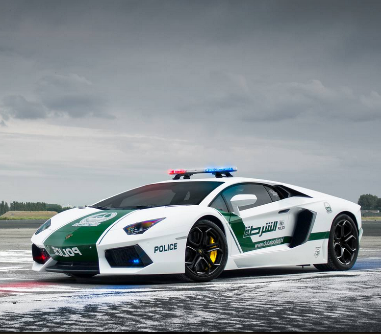 World's Fastest Police Cars Behind The Scenes Of Dubai's