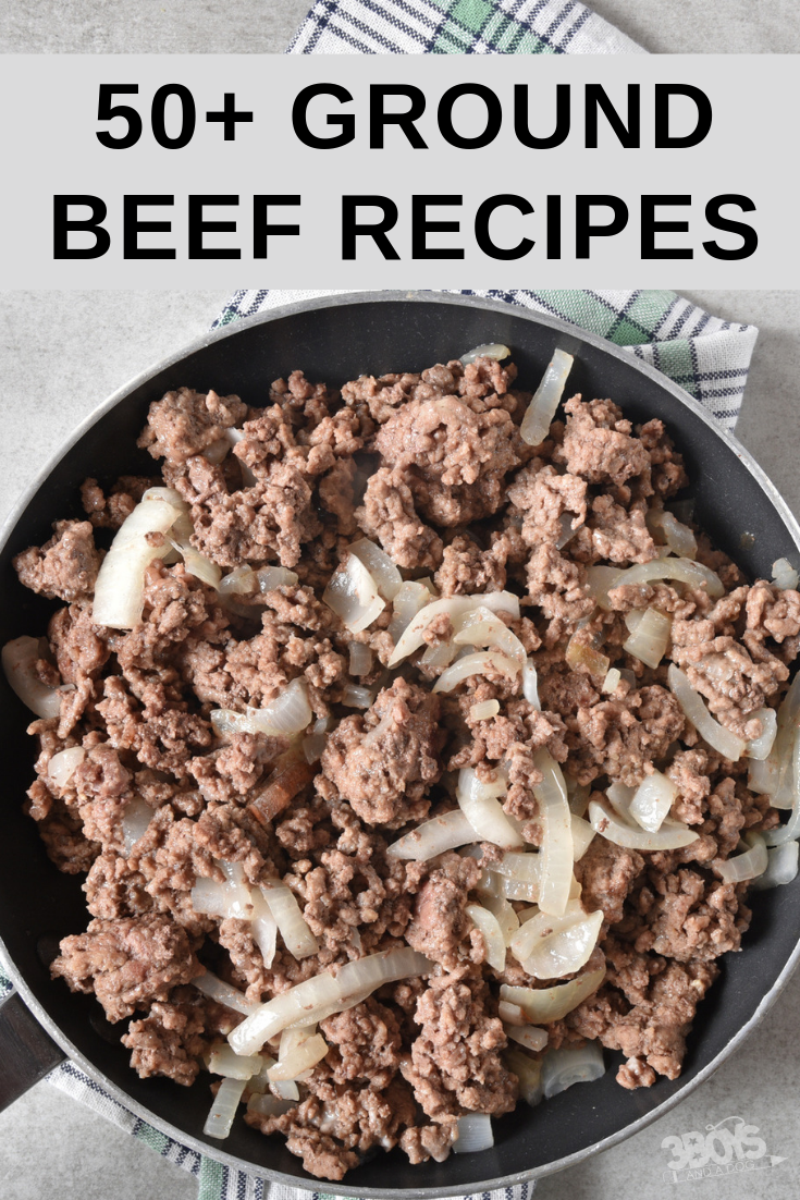 50+ Ground Beef Recipes for Busy Moms images