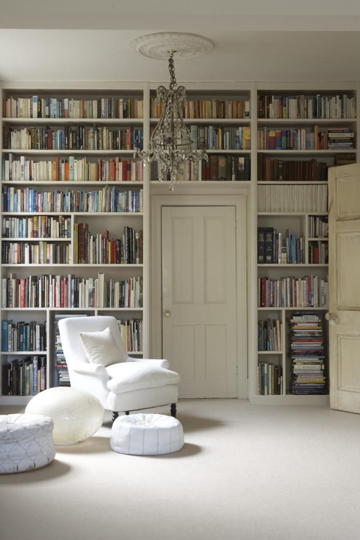 Bookshelves Over The Door. When You Have As Many Books As