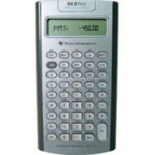 Texas INSTRUMENTS Ba II Plus Professional Business Calculator