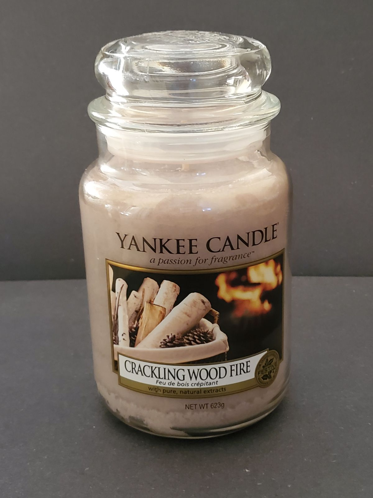 Yankee Candle Wax Melt Crackling Wood Fire
