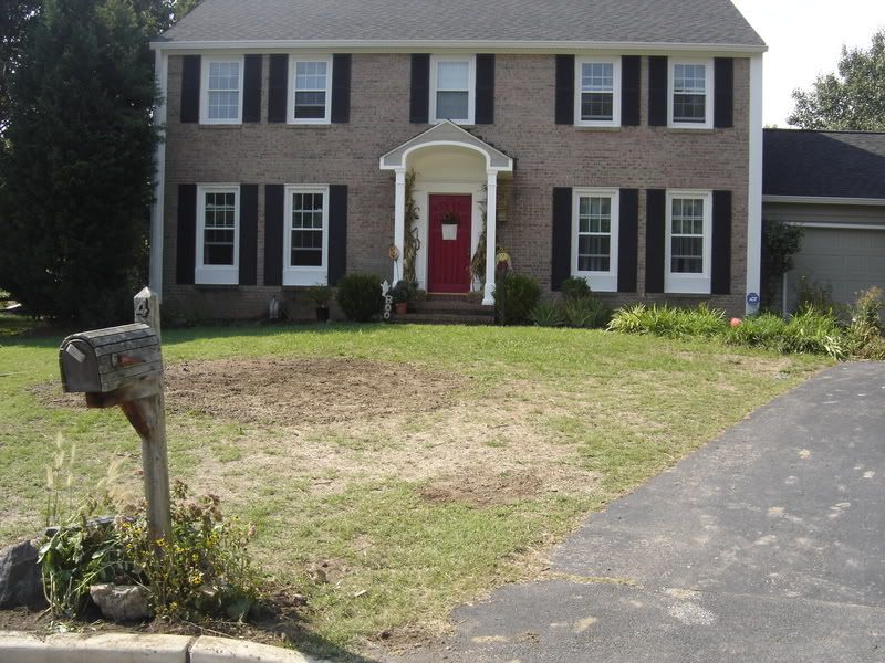Landscape Design Front Of Colonial House Part - 17: Need Ideas For Colonial House Front Beds -(see Photos) - Landscape Design  Forum