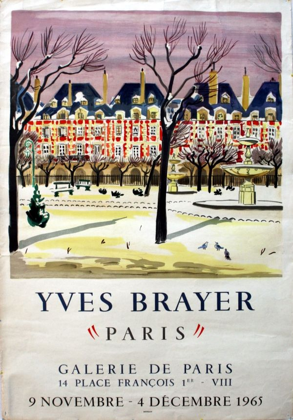 Poster Graphic Design Advertising Posters Yves Brayer