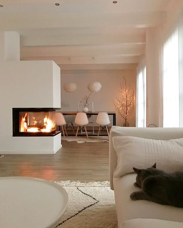Photo of What a cosy living space ♡ Eos light shade available online