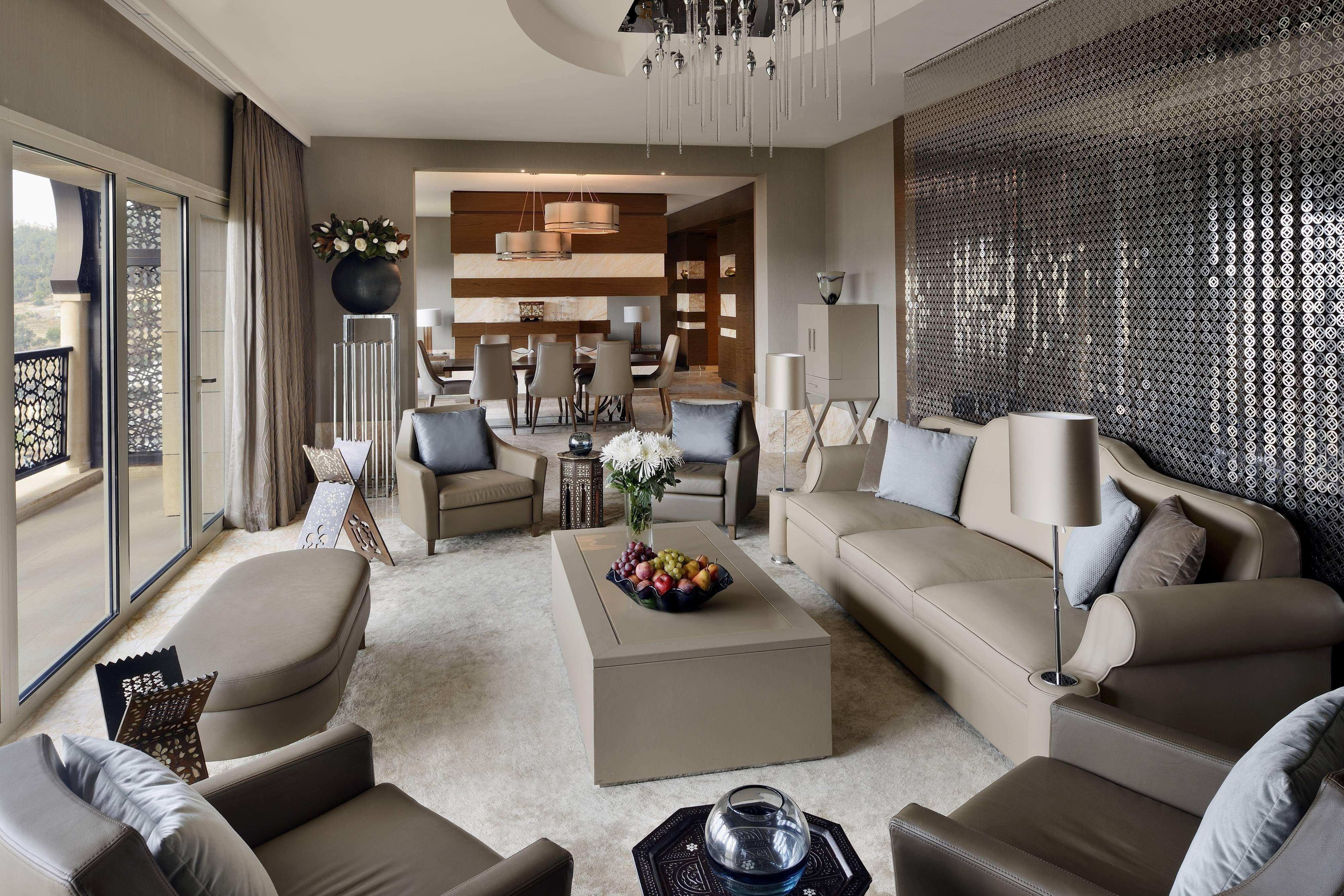 Constantine Marriott Hotel Presidential Suite Living Room