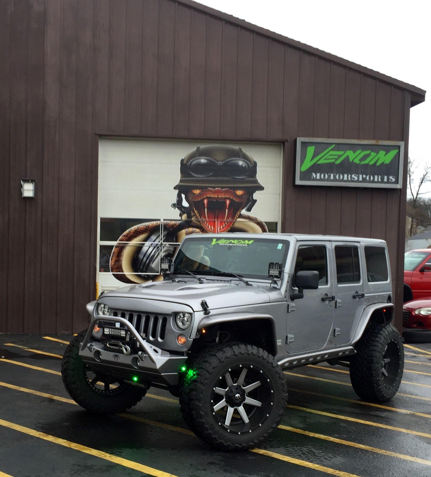 Custom Jeep Wrangler By Venom Motorsports Grand Rapids Michigan