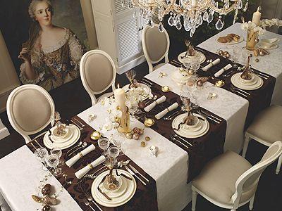 tischdeko f r weihnachten tischdeko weihnachtliche festtafel wohnen garten tischdeko. Black Bedroom Furniture Sets. Home Design Ideas