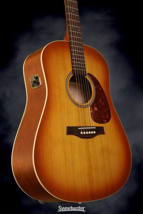 Seagull Guitars Steel Ukulele Semi Gloss Burst Seagull Guitars Guitar Gibson Acoustic
