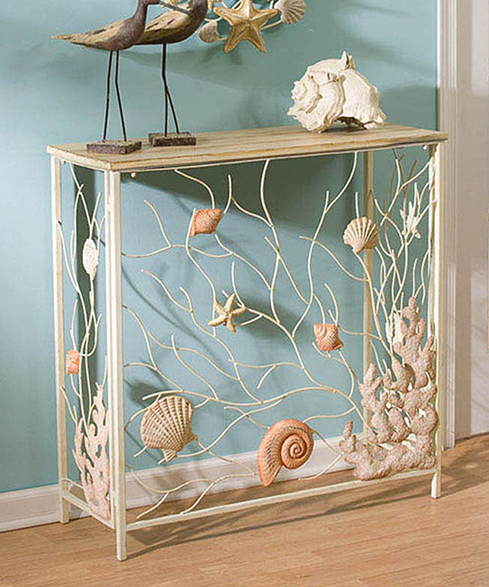 Loving This Shells Hall Table On Zulily Zulilyfinds