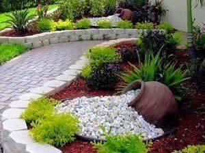 diseo y decoracin de los jardines pequeos ms bonitos - Jardines Bonitos
