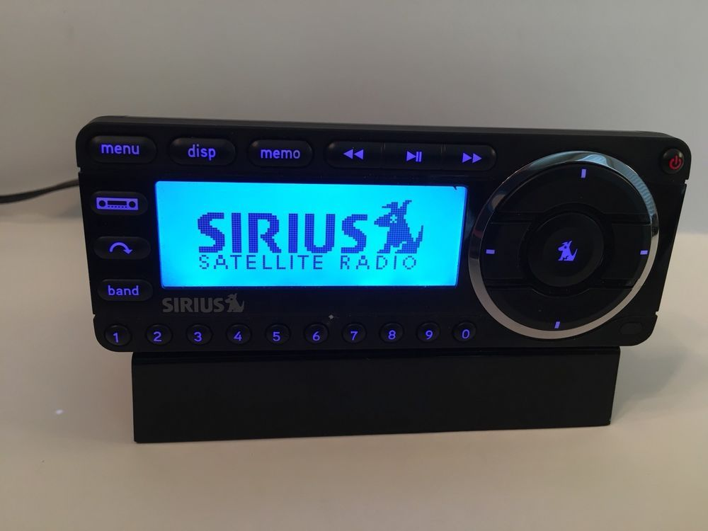 sirius xm satellite radio starmate 5 receiver w base and power rh pinterest com Sirius Starmate Replay Car Kit sirius sportster 5 manual