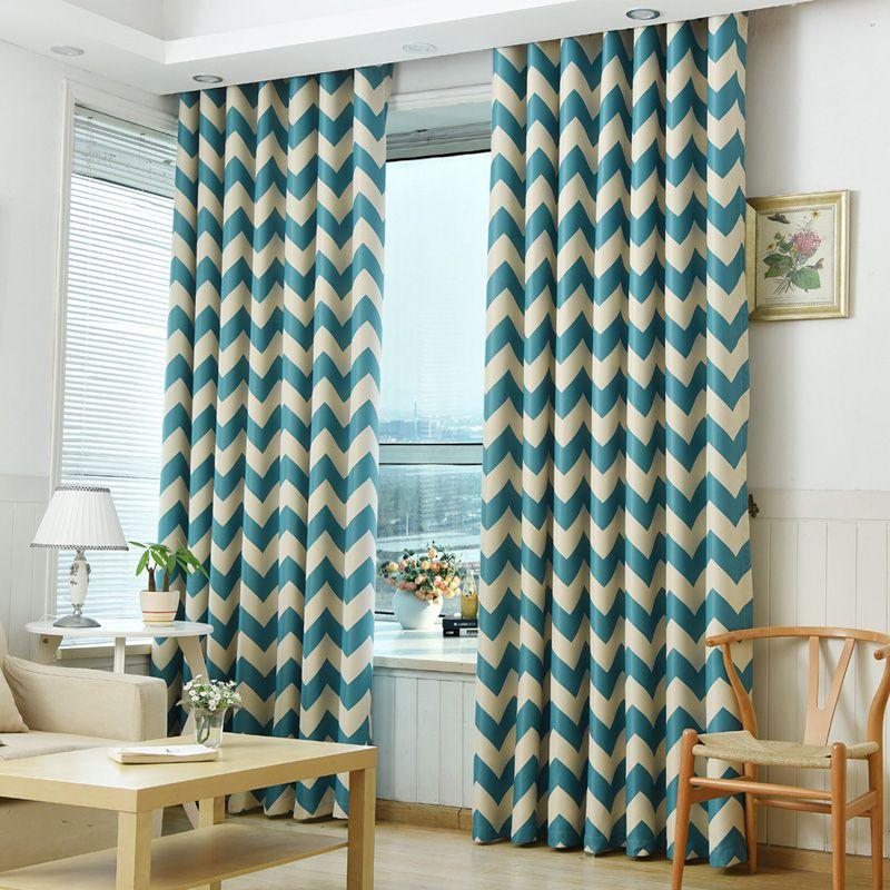 Blackout Curtains Modern Window Treatment Blind Shade Living Room Door Geometric Bedroom Curtain Panel Ch Tipos De Cortinas Modernas Cortinas Modernas Cortinas