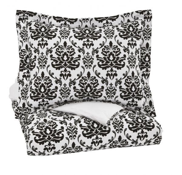 Alano Youth Black Paisley Twin Duvet Cover Set Black Bedrooms