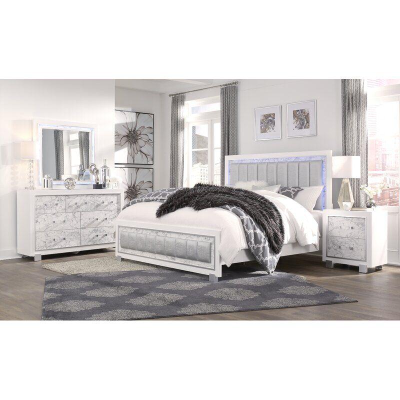 Everly Quinn Faria Standard Configurable Bedroom Set Reviews Wayfair In 2020 Bedroom Sets Queen Bedroom Set Global Furniture Usa