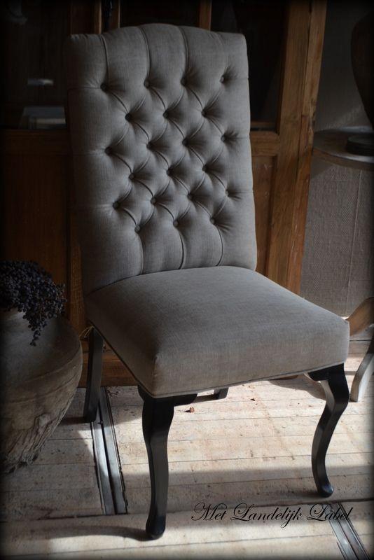 Gecapitonneerde stoelen | Gecapitonneerdestoelen.nl