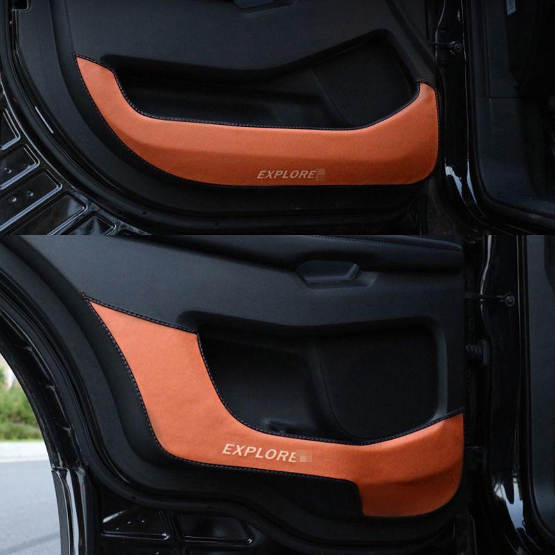 Car Accessories Door Protector Side Edge Protection Anti Kick Mat