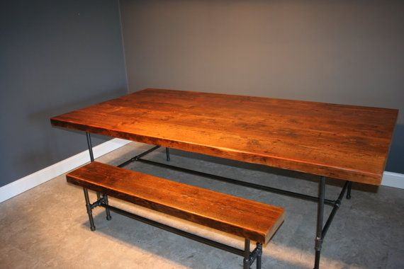 Bench And Dining Kitchen Table Combination