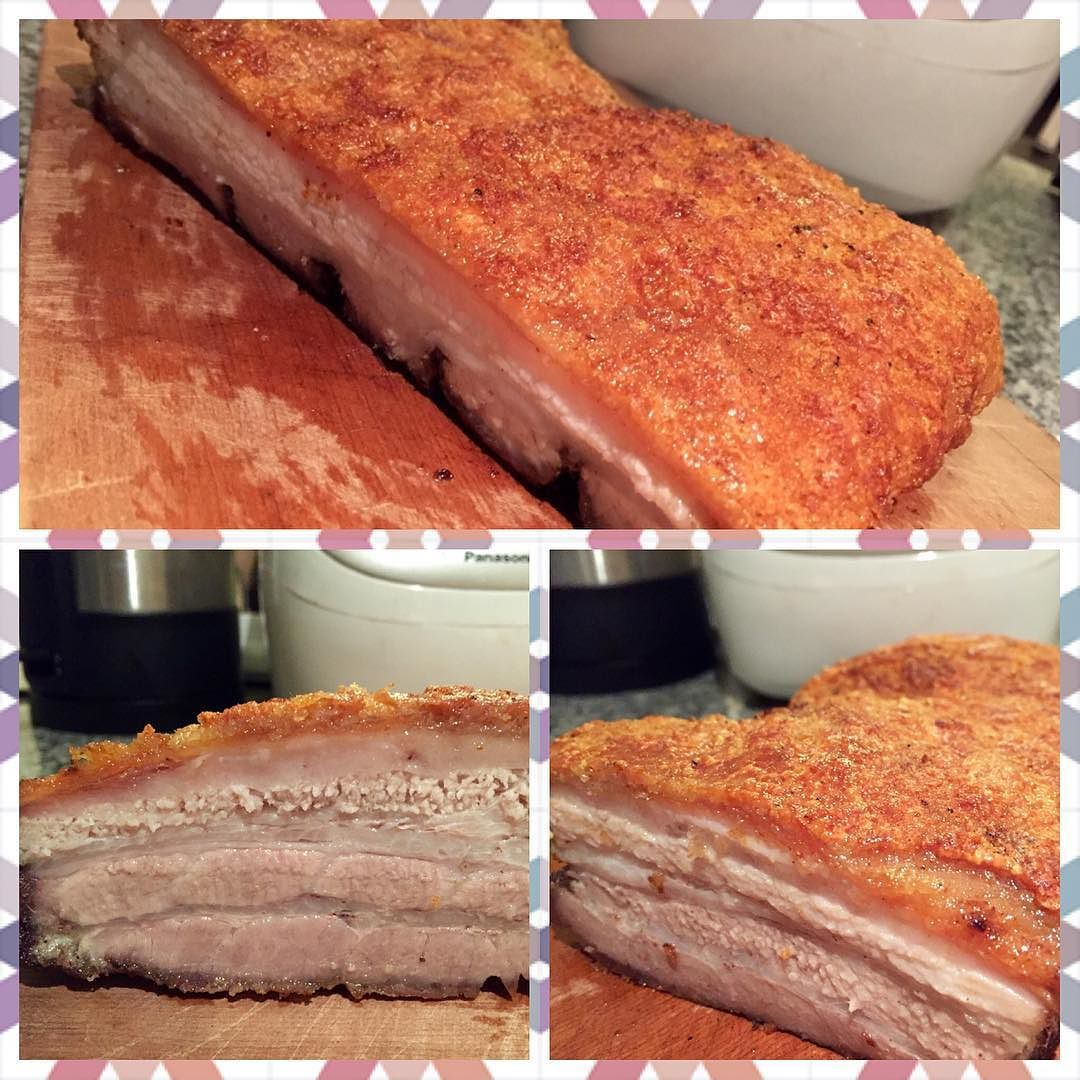 Perfect pork belly for a Belly Happy Chinese New Year! #porkbelly #pork #roastpork #roastporkbelly #crispyporkbelly #chineseporkbelly #aroibkk by lcs0019