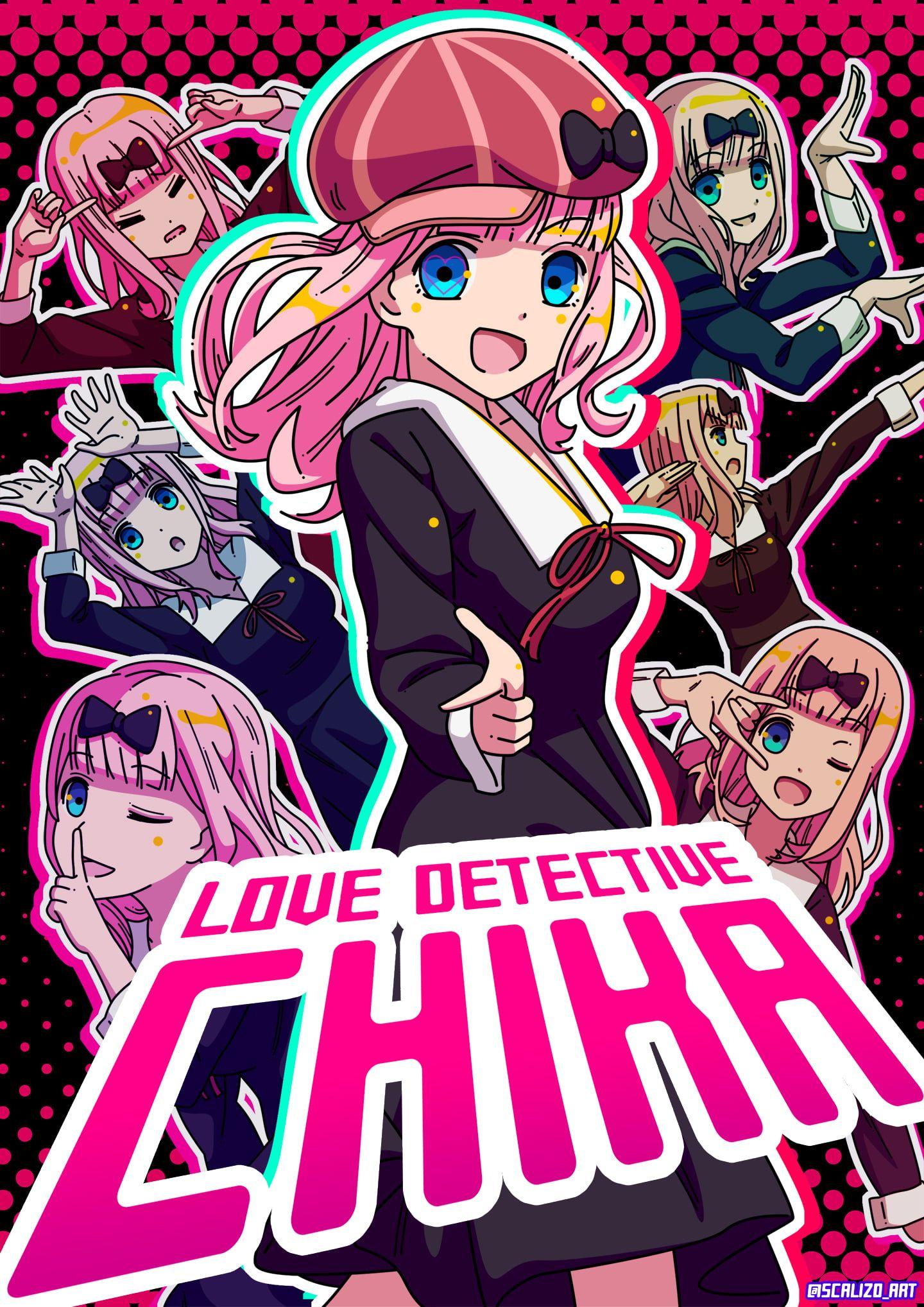 KaguyaSama Love is War anime girls Chika Fujiwara 1080P
