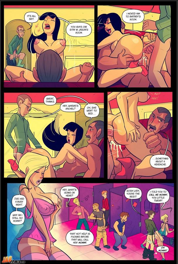 Порно комикс один из дней двух моделей