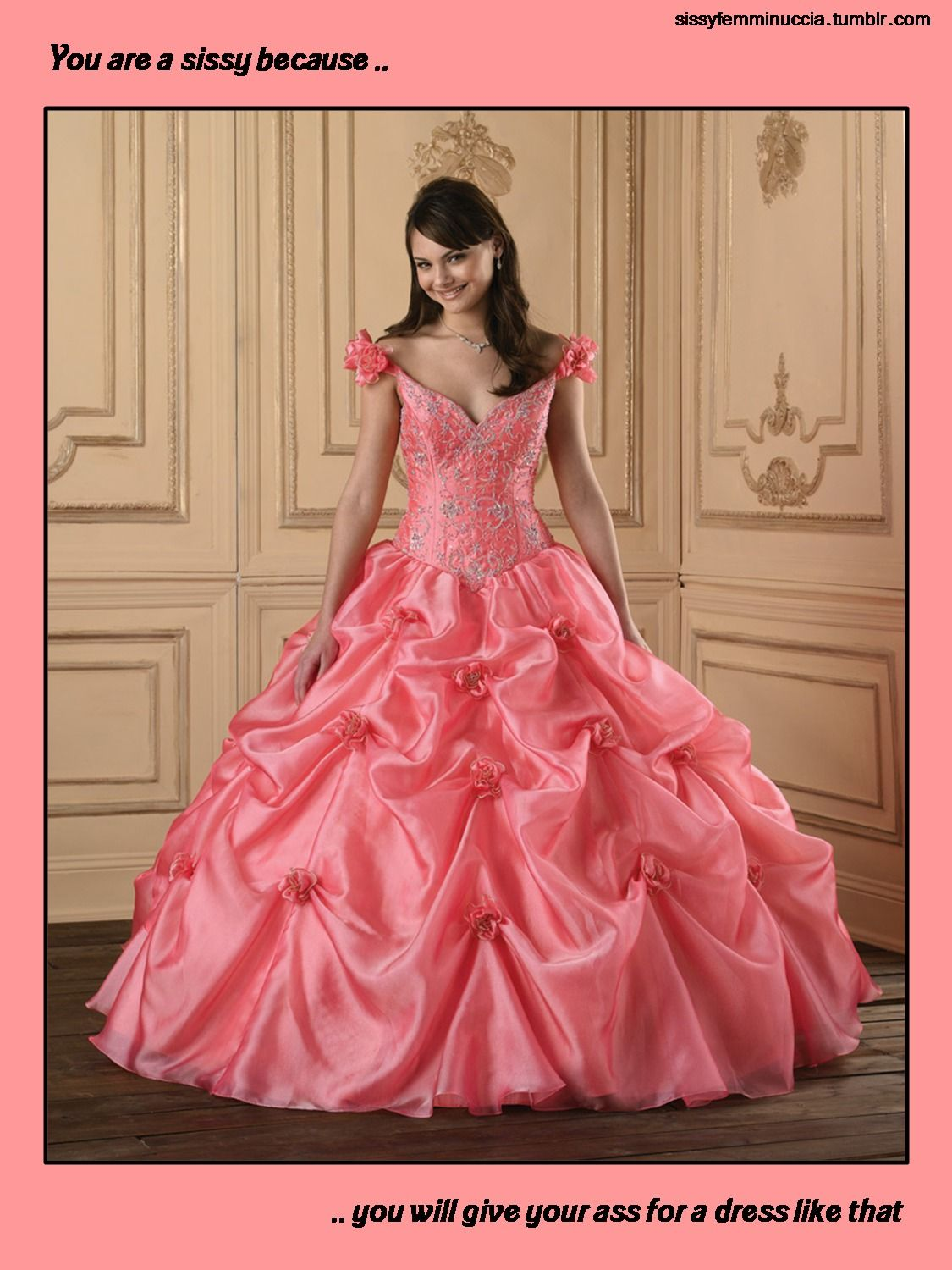 Frilly Sissy Tumblr pertaining to you are a sissy because you will give your ass for a dress like