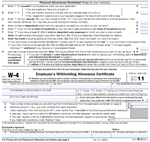 What Is A W4 Form? And How To Fill It Out In 2020