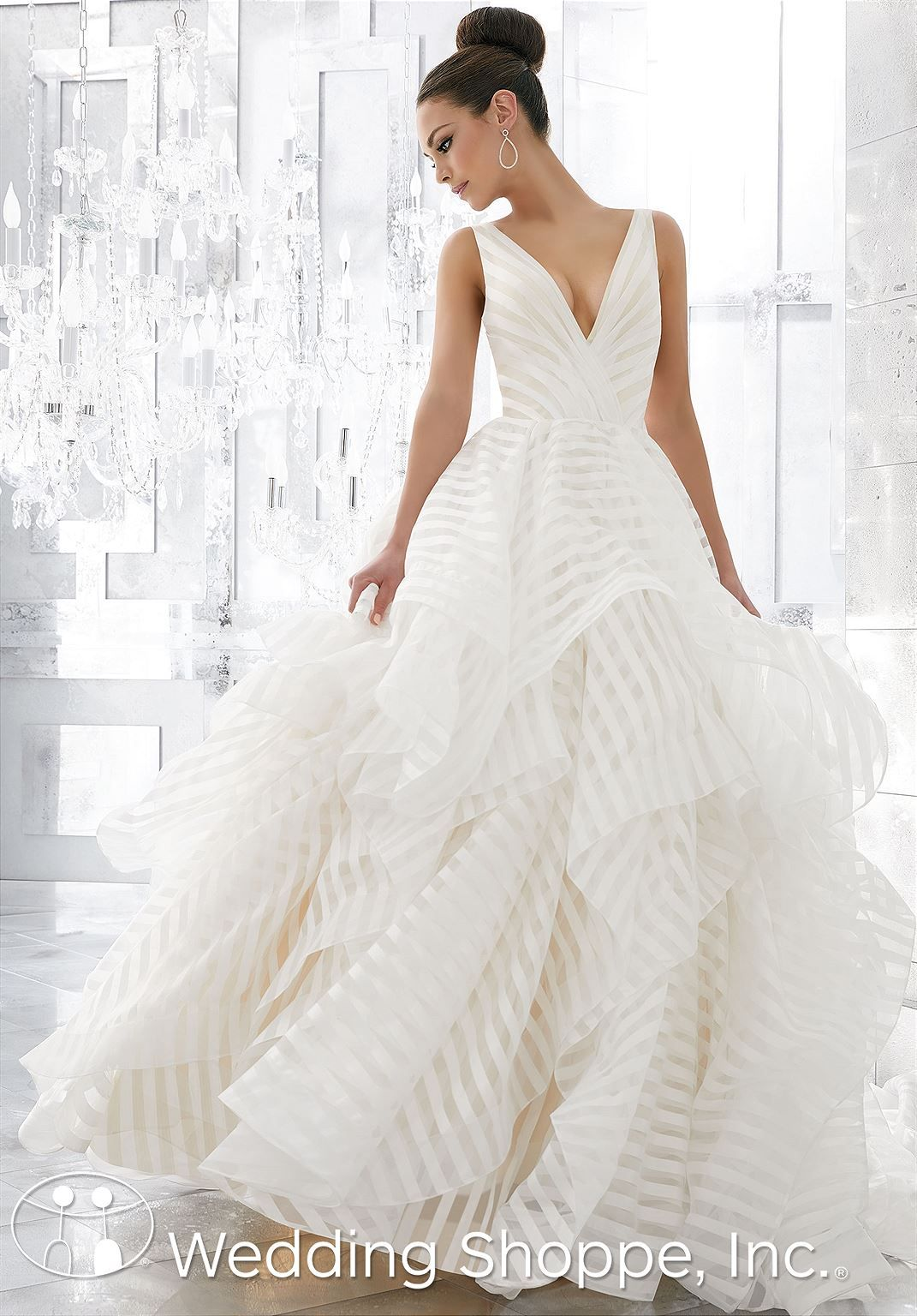 Blu by Mori Lee Bridal Gown Milly / 5577 | Pinterest | Affordable ...
