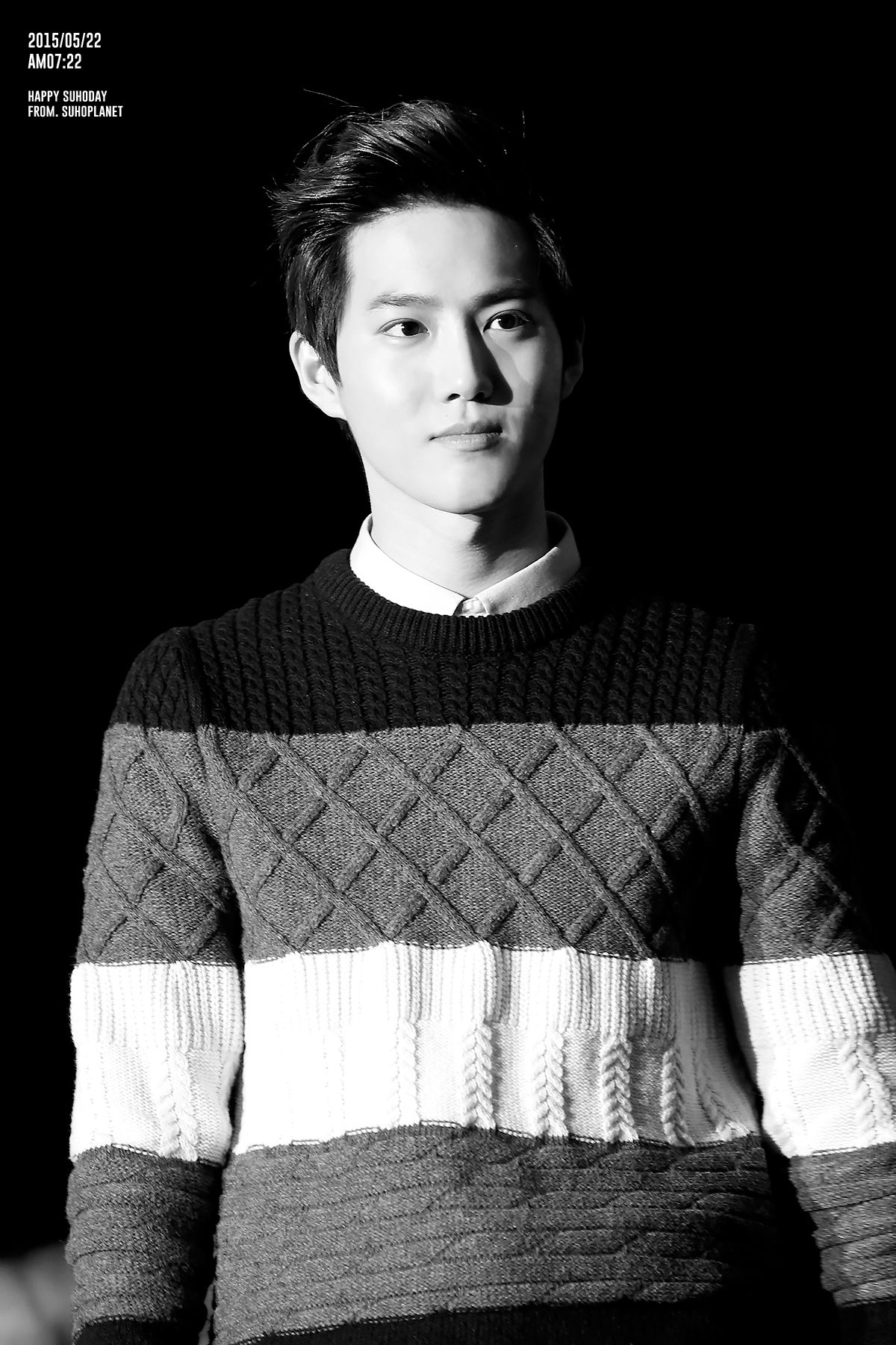 Suho - 131006 SHINee Comeback Special Credit: Suho Planet. (샤이니 컴백)