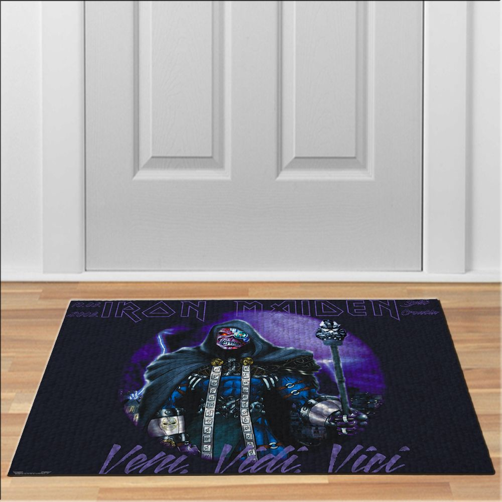 awesome iron maiden veni vedi vici Doormat Rock Heavy Metal Band ...