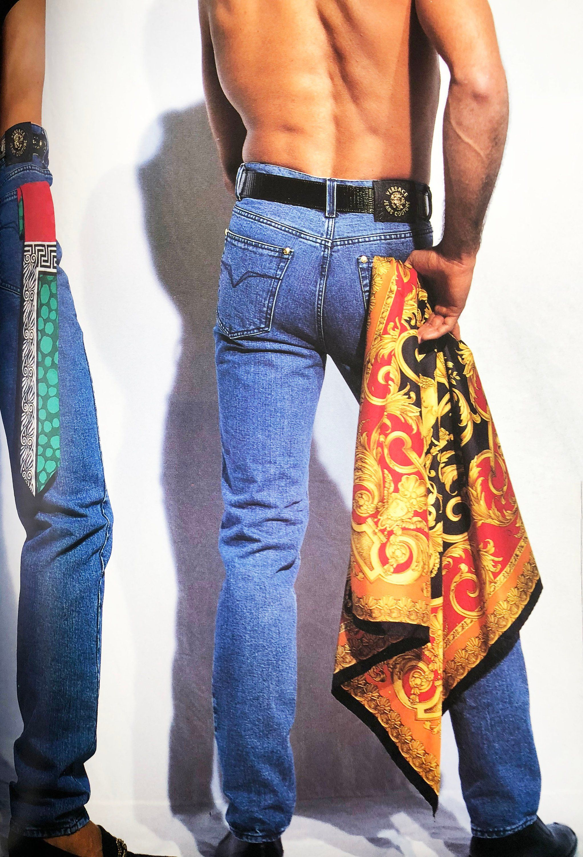 78c0a1573f83 VERSACE JEANS COUTURE Spring Summer 1992 photographed by DOUG ORDWAY ...