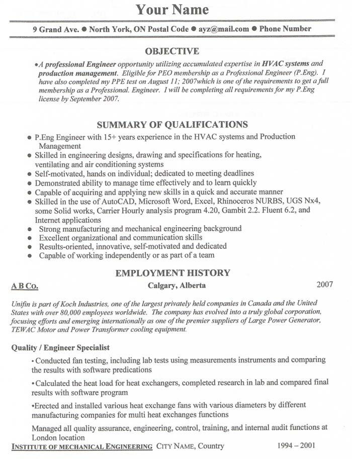 Free Resume Templates Canada Job resume examples, Sample