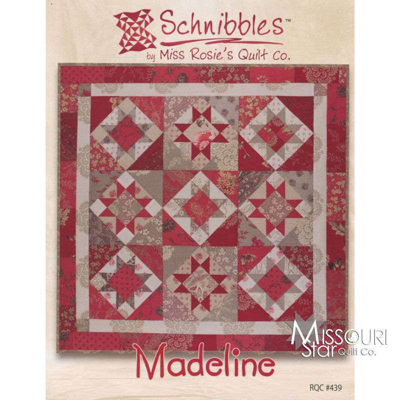 Schnibbles - Madeline Mini Quilt Pattern By Miss Rosie's Quilt Co ... : miss rosie quilt - Adamdwight.com