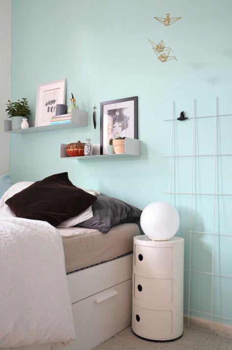 Schlafzimmer-Umstyling in Mint | schlafzimmer deko | Pinterest ...