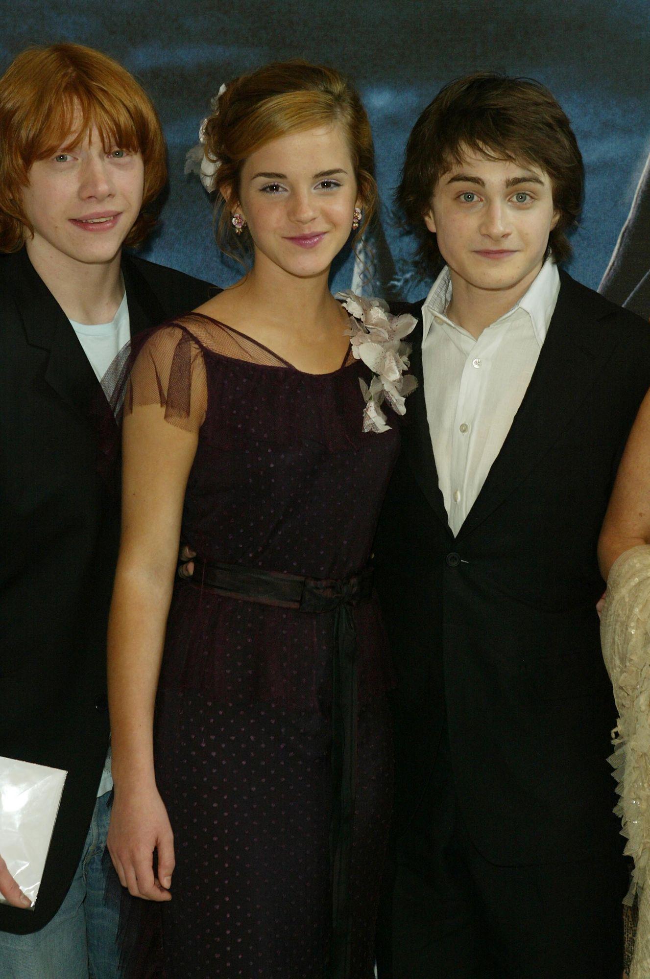 Harry Potter And The Prisoner Of Azkaban Uk Premiere Emma Watson Harry Potter Harry Potter Actors Harry Potter Movies