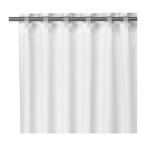 vivan rideaux 1 paire blanc ikea idee deco et id e. Black Bedroom Furniture Sets. Home Design Ideas
