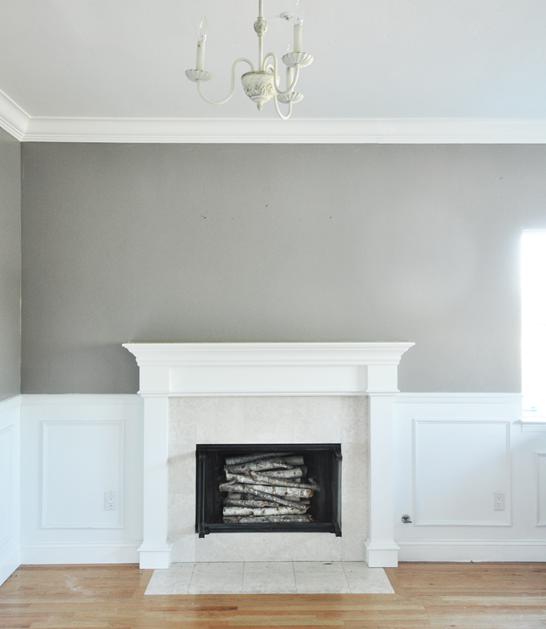 Wall Is Painted In Rockport Gray By Benjamin Moore Living Room