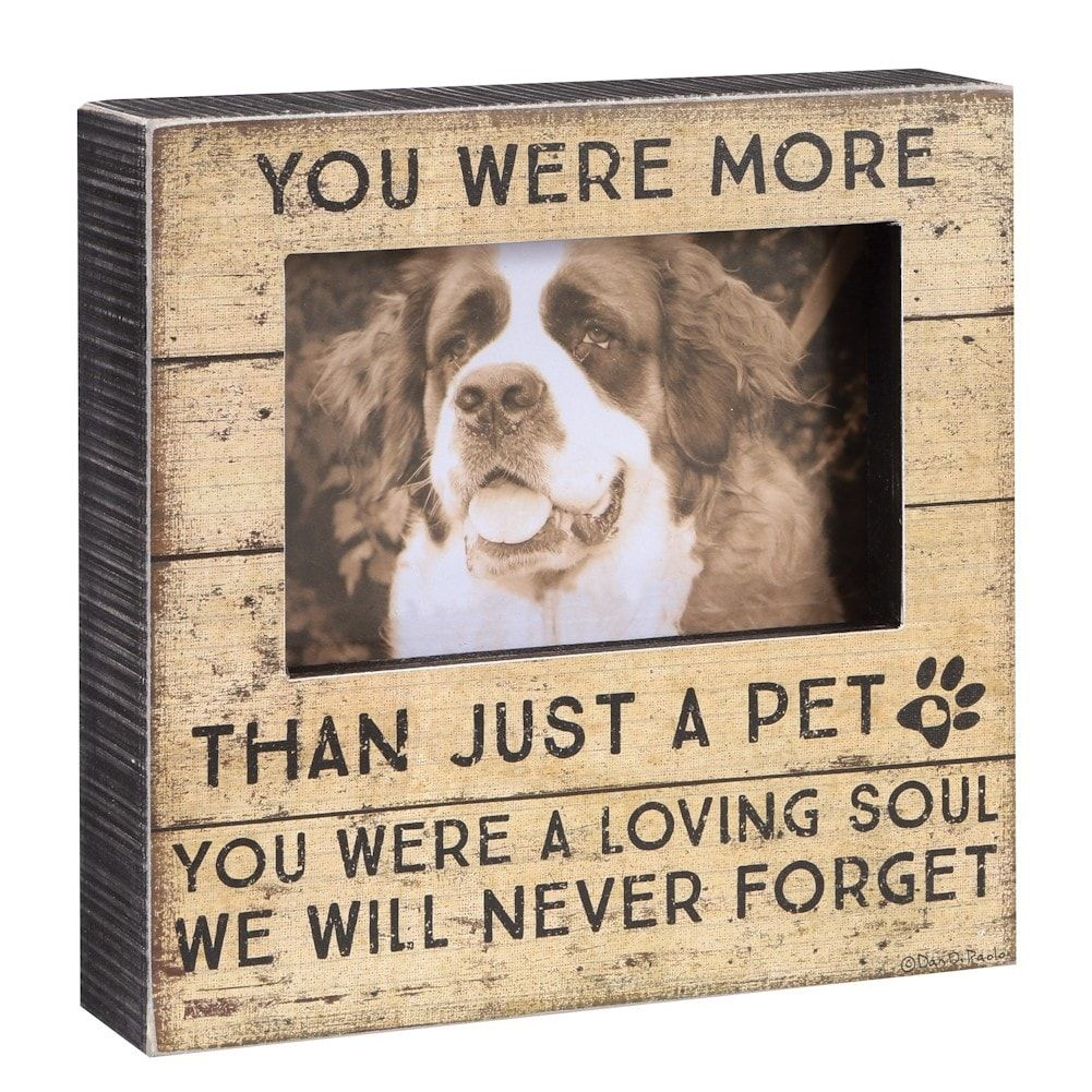 buy cheap half off free shipping More Than A Pet Memorial Frame - In Memory Of Pet Picture Frame ...