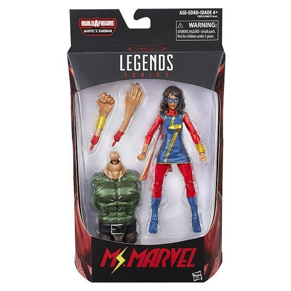 Marvel Legends - Sandman BAF - Amazing Spider-Man - Ms. Marvel