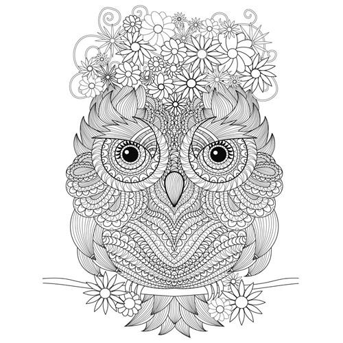 Varazslatos Motivumok Baglyok Szinezo Konyvek Hobbi Otthon Owl Coloring Pages Mandala Coloring Pages Animal Coloring Pages
