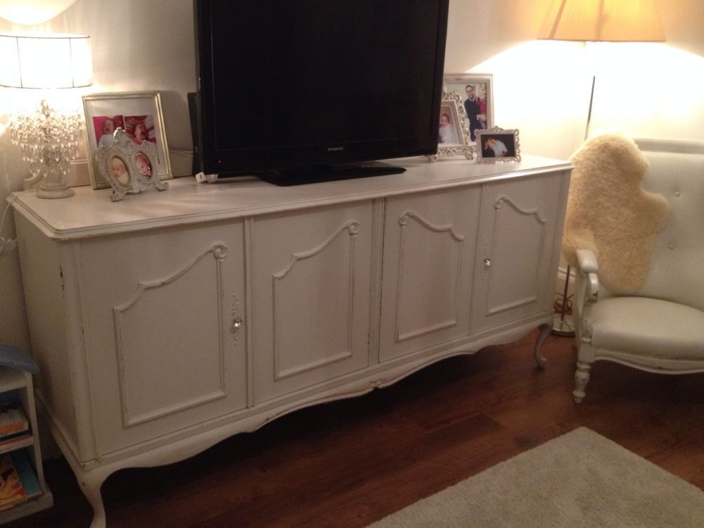 Authentic French Louis Style Shabby Chic Sideboard TV Cupboard Cabinet GBP1300 New
