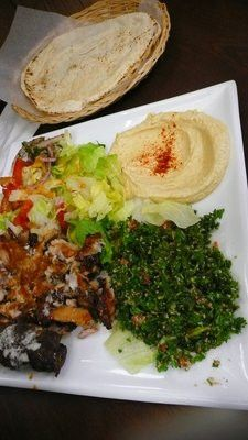 Chicken Shawarma deliciousness