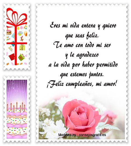 Pin De Flora Maria En Amor Pinterest Cumpleanos Frases
