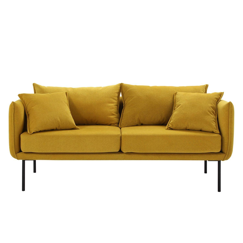 Sofa Bayboro Webstoff 2 5 Sitzer Kaufen Home24 Gunstige Sofas Sofa Senfgelb